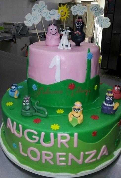 torte con decorazioni glassate
