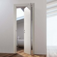 porta in legno, porta interna di design