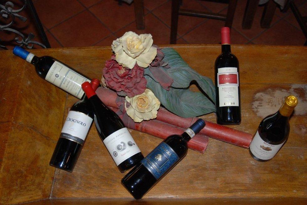 specialità vini toscani