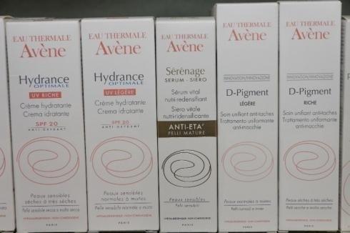 Prodotti Avene