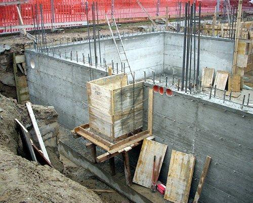 Muri di cemento armato
