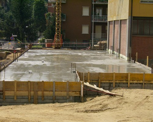 Rivestimento di cemento