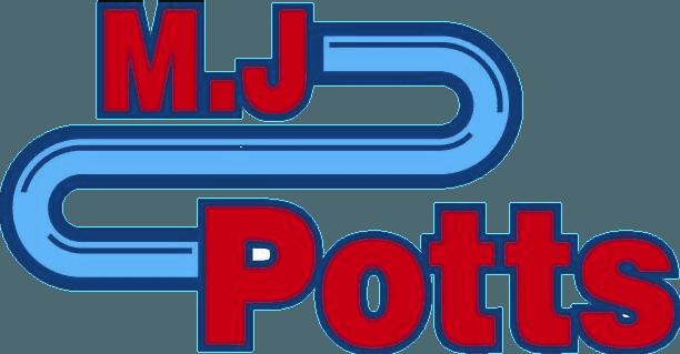M J Potts logo