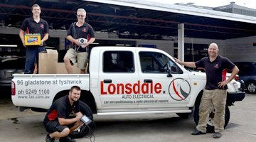 The Lonsdale Auto Electrical team