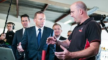 Meeting the prime minister