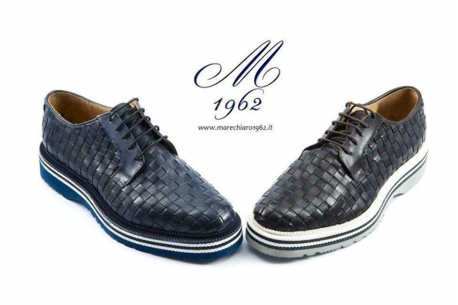 due scarpe di pelle uomo della marca M