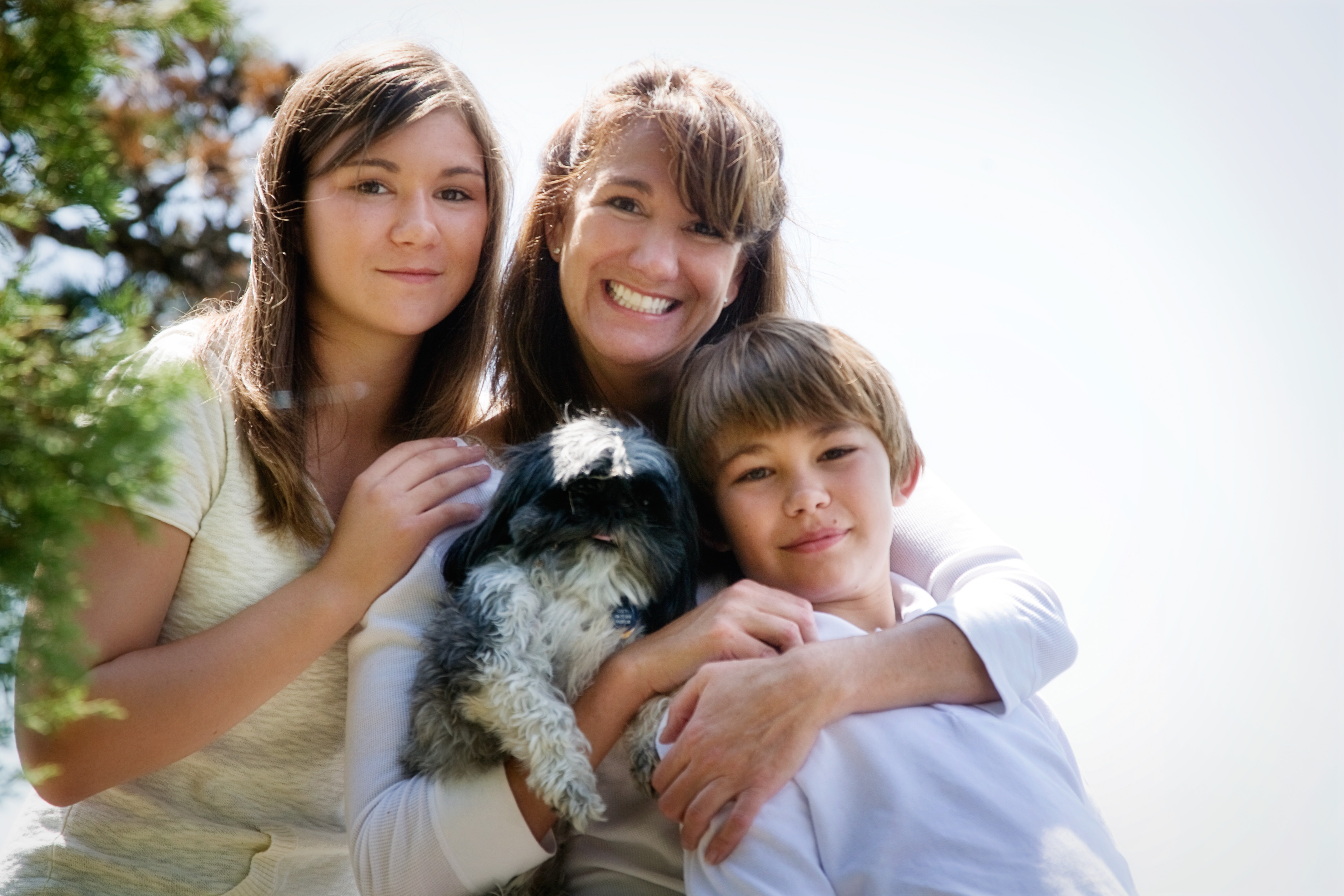 A family in need of general dentistry in Kalispell, MT