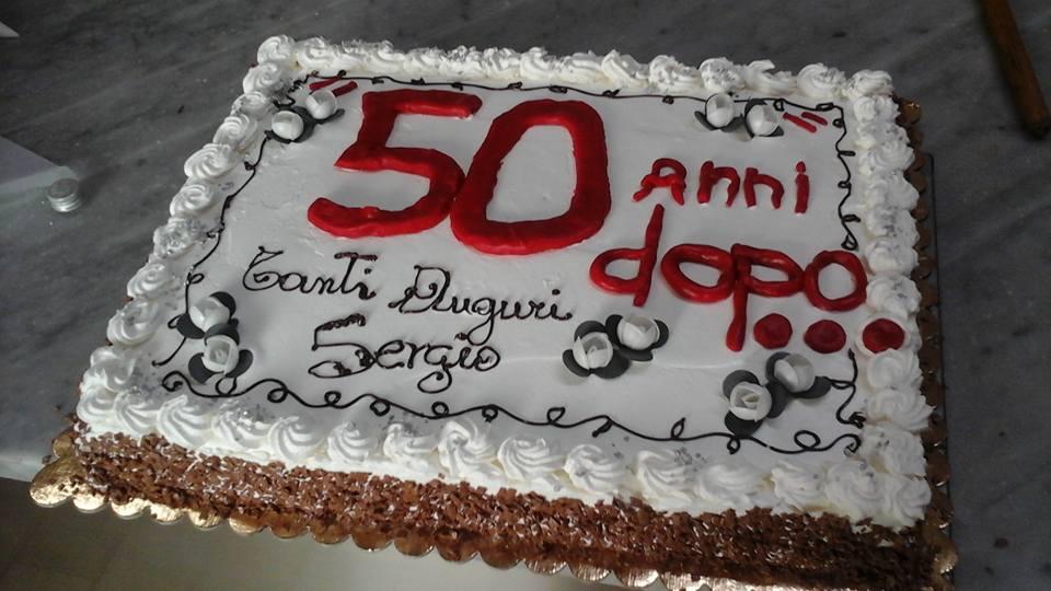 torta per 50 anni