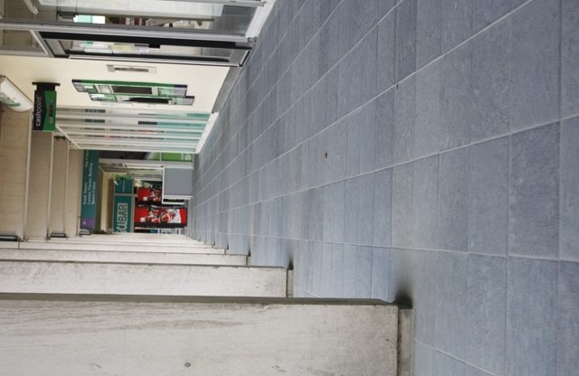 University of Essex: Laying of new slabs to Square 3