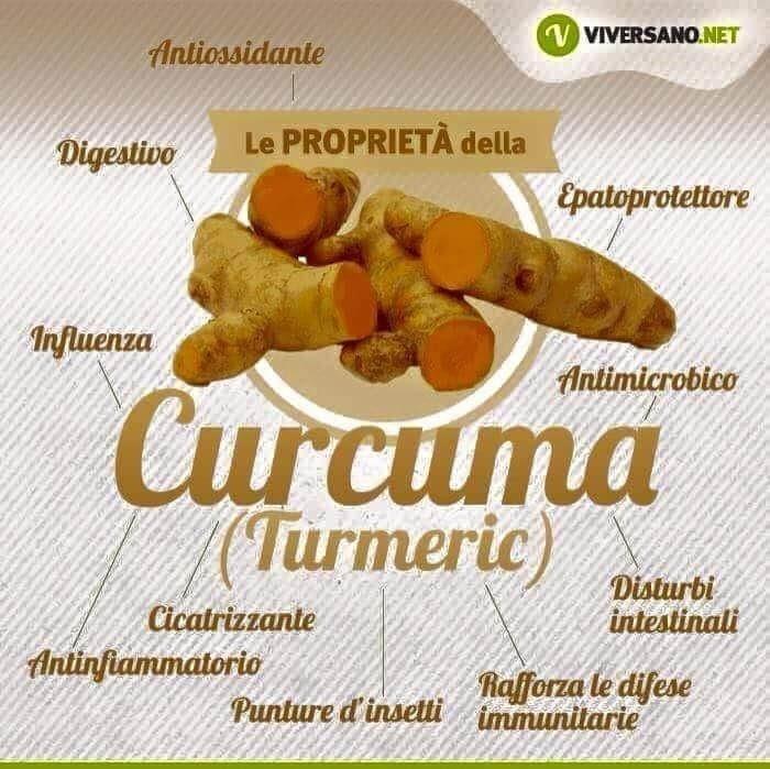 curcuma benefici