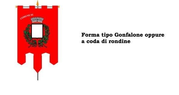 gonfaloni a coda