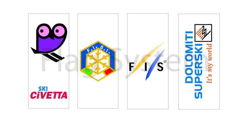 Bandiere Verticali Personalizzate