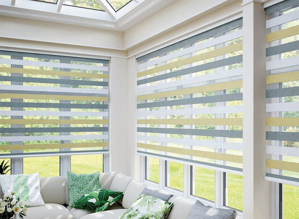 Beautiful blinds at Abbey Mill Carpets & Blinds in Ribble Valley