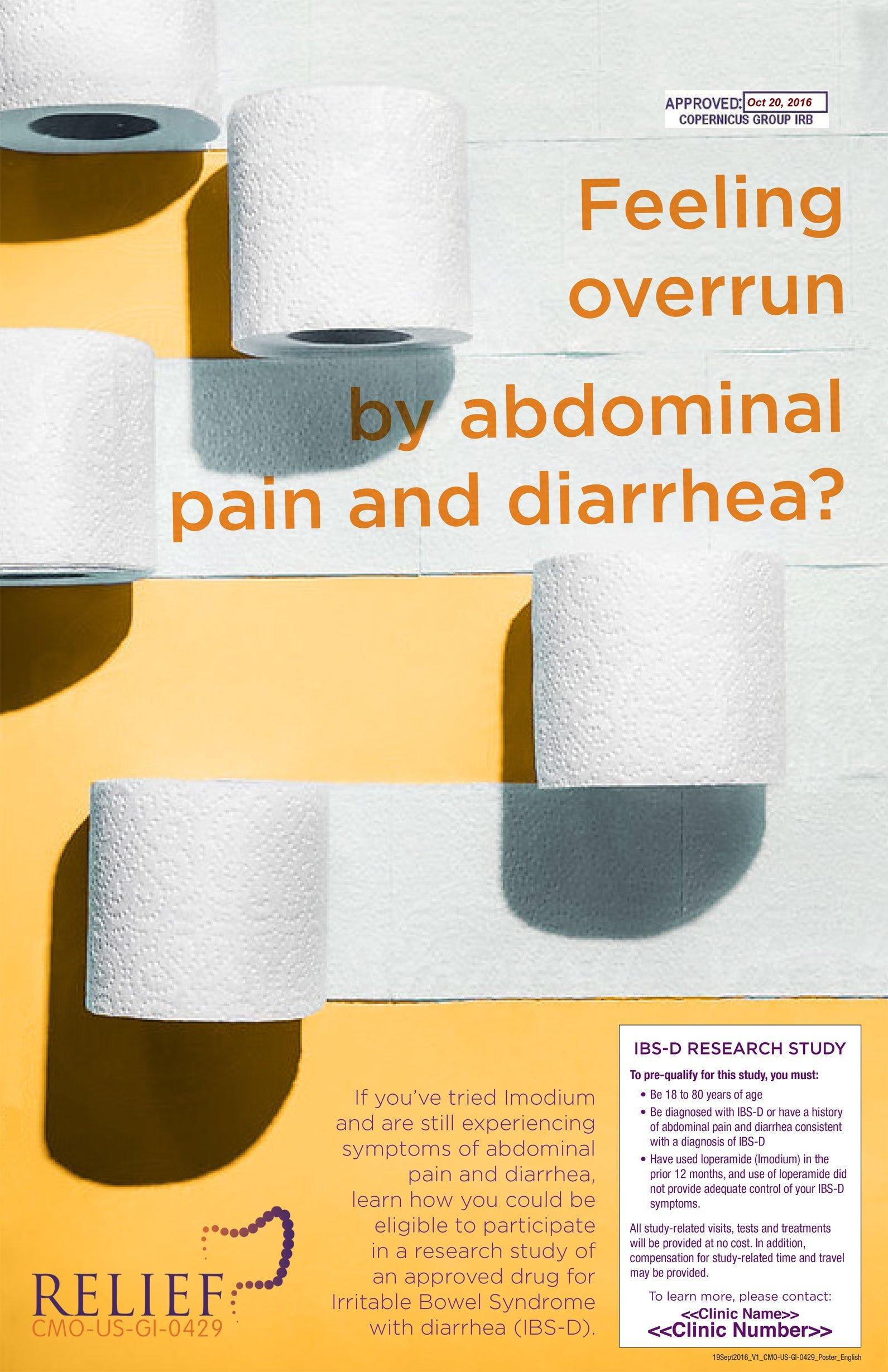 Diarrhea?