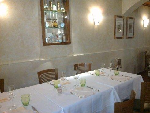 sala ristorante la colonna, ambiente intimo, ambiente privato