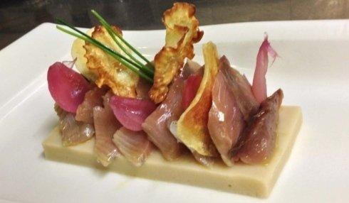 pesce crudo, ristorante la colonna san nicolò, cucina di pesce