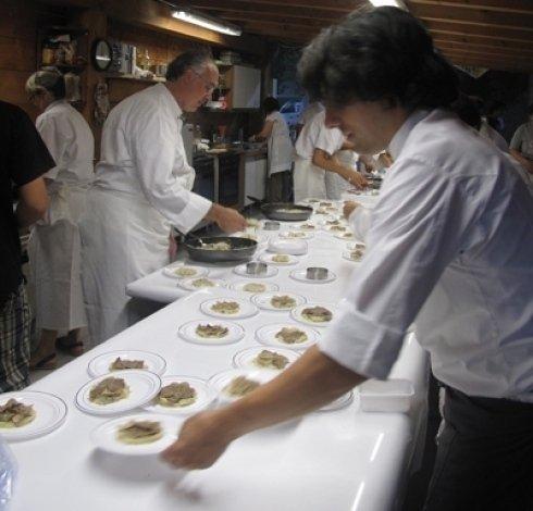georges cogny, farini, cena per Cogny, chef cogny