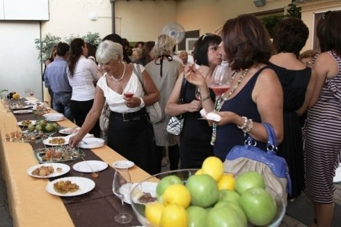 aperitivo al ristorante la colonna, eventi privati, cene d