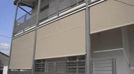 riparazione tende, motorizzazioni su schermature solari, schermature solari