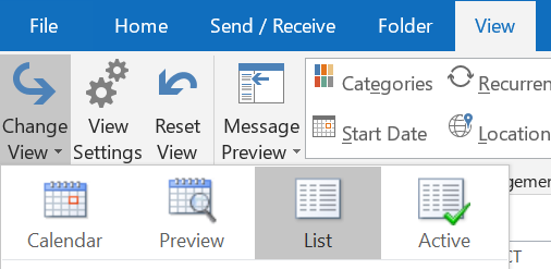 How to copy appointments between accounts in Outlook