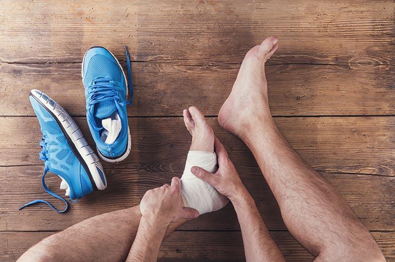 foot hurt wrap