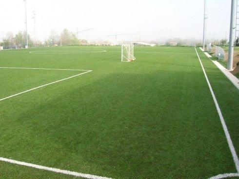 Realizzazione campo da calcio