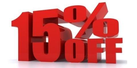 15 % OFF