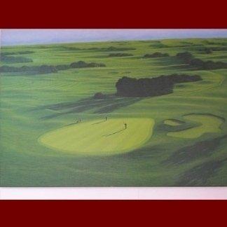 quadro campo golf