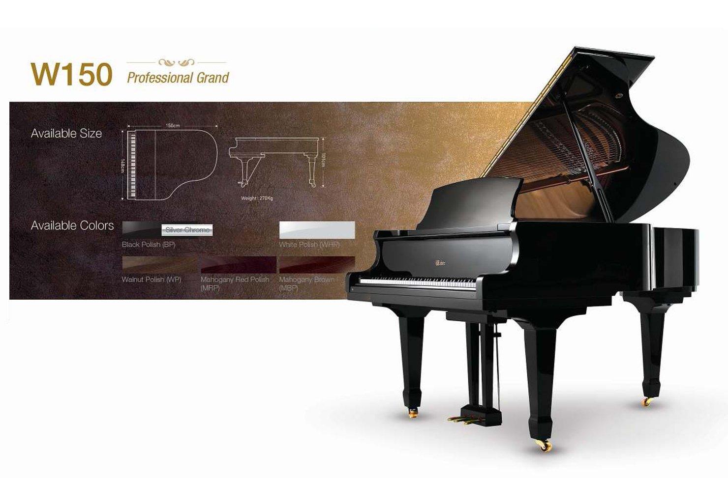 Grand Piano in San Jose, CA - World Class Pianos