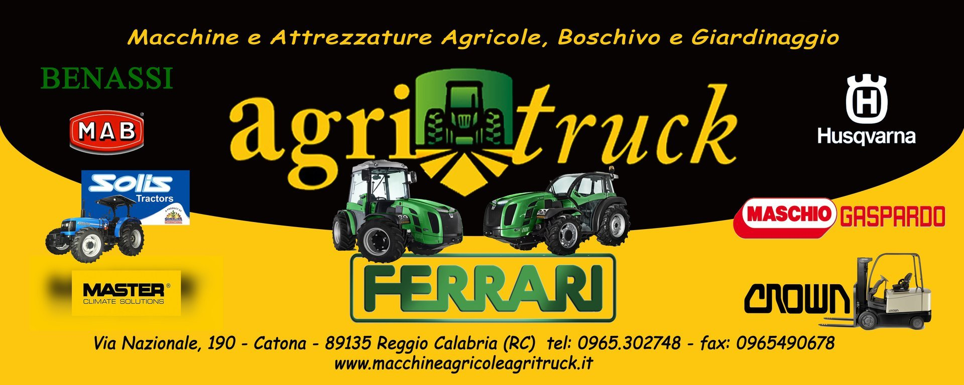 agritruck macchine agricole calabria