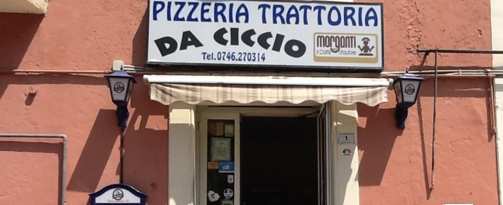 Trattoria da Ciccio, Rieti