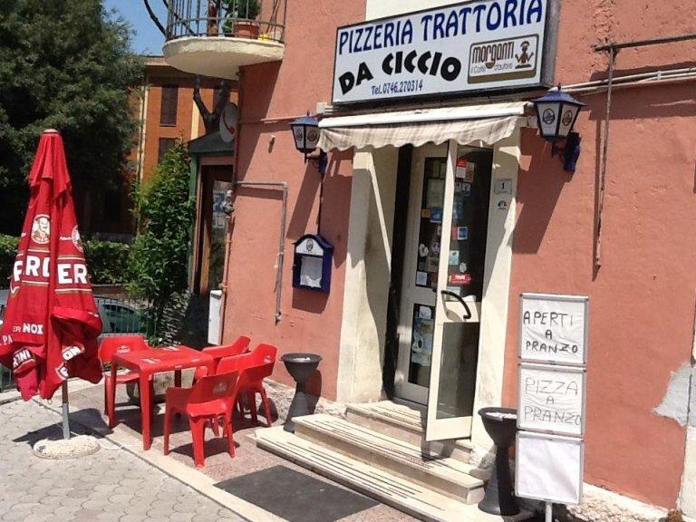 trattoria, ristorante, da Ciccio, Rieti