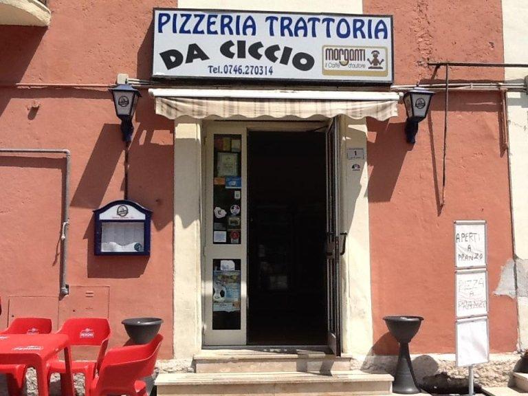 pizzeria rieti, trattoria Rieti, Da Ciccio, Rieti