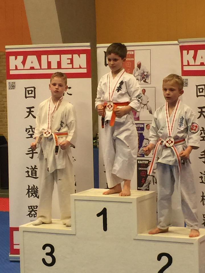 Sieger Daniel Schmer - Kyokushinkai Hamburg