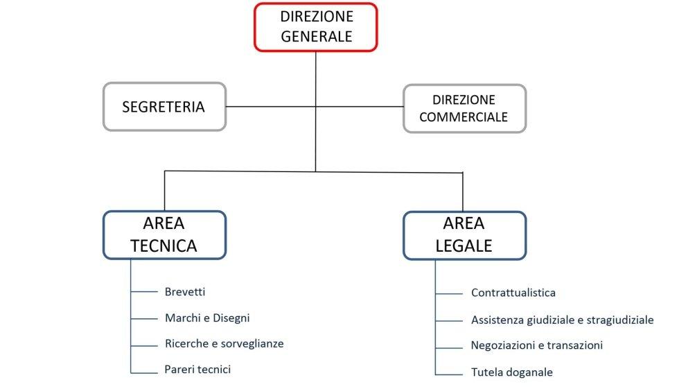Company organisation chart