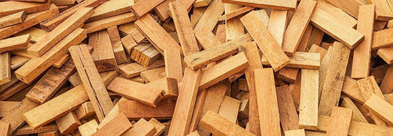 smaltimento legno