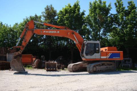 escavatore grandi dimensioni
