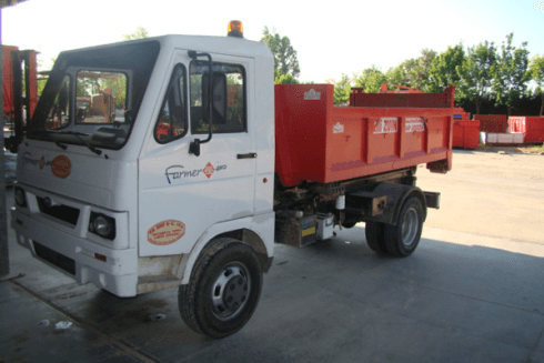 furgone scarrabile