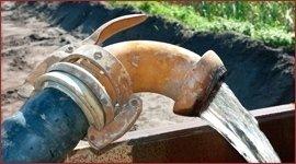 drenaggio acqua orto