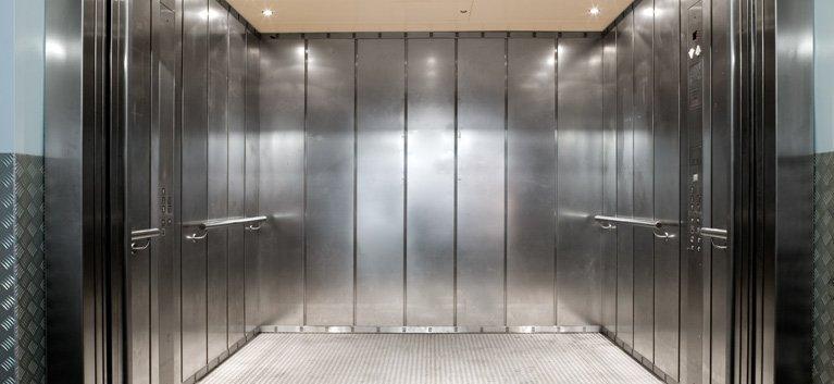 working elevator