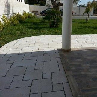 Pavimenti esterni per porticati