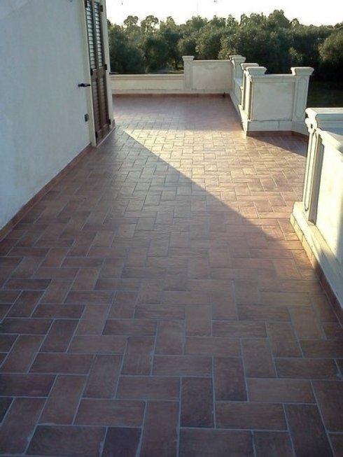 Realizzazione pavimenti da esterno