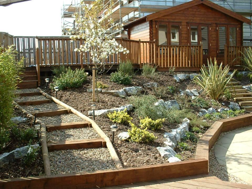 garden walking area