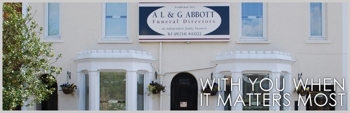 Snowdrops and green leaves - AL & G Abbott Funeral Directors | Bedford, Milton Keynes