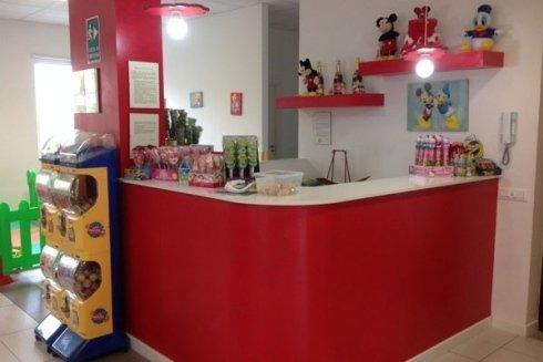 Presso il bar si possono acquistare caramelle e dolciumi di ogni genere.