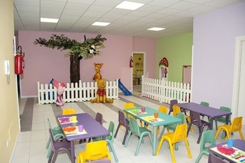 Sala mensa per pranzo e merende