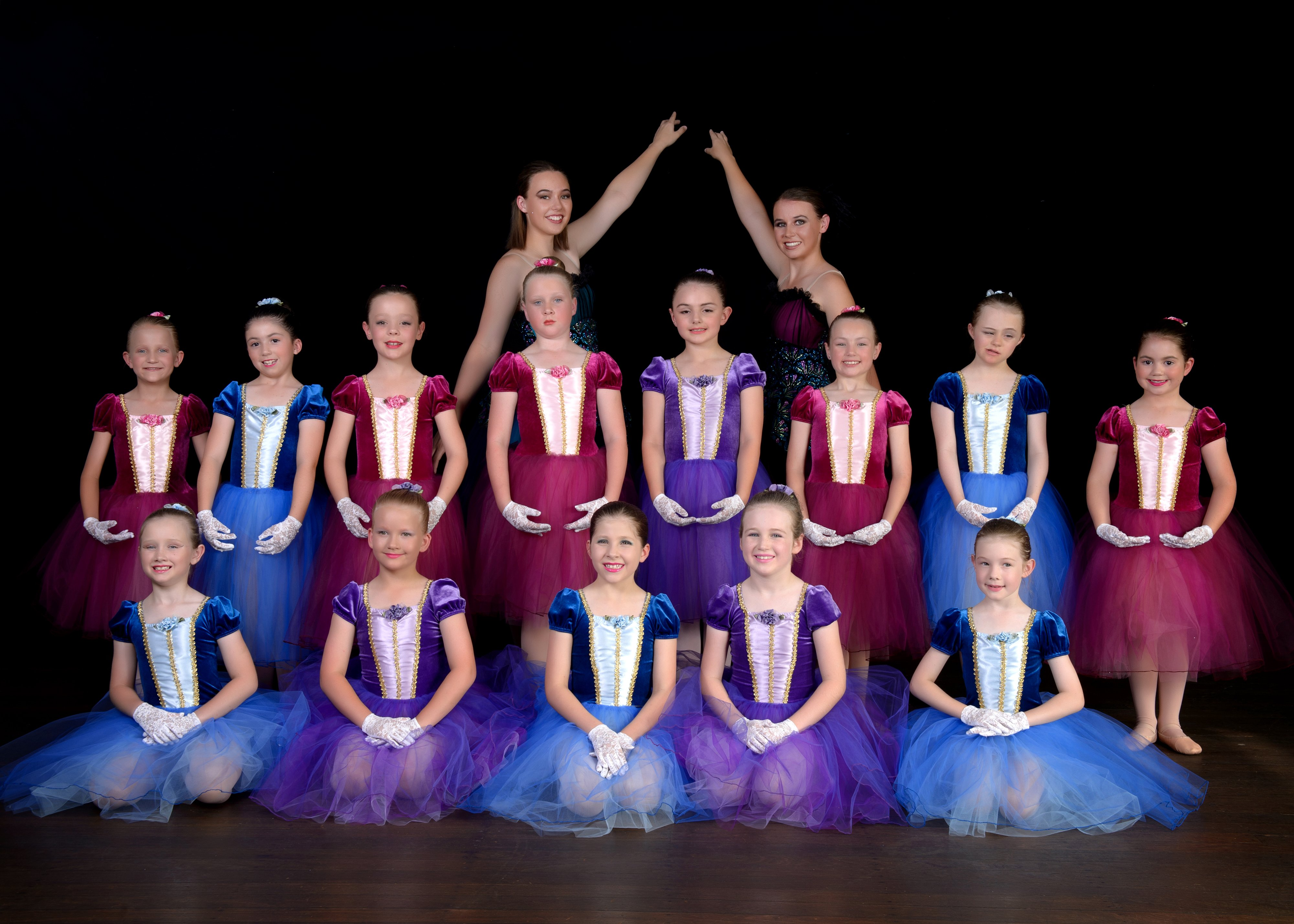 all ages - ballet dancers