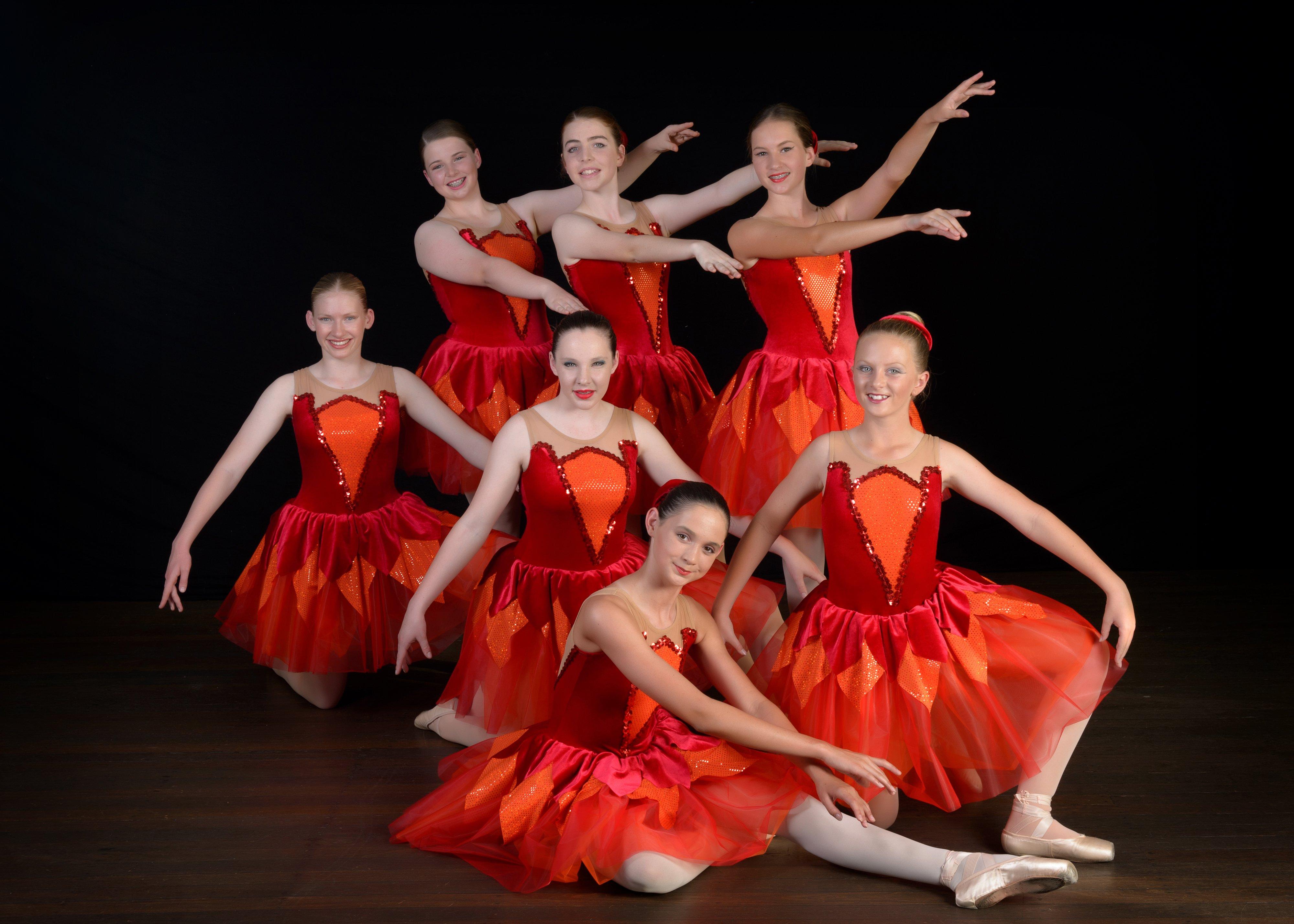 Jazz dancers