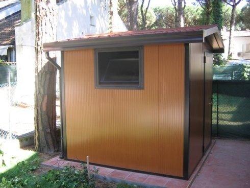 box pannelli coibentati color finto legno