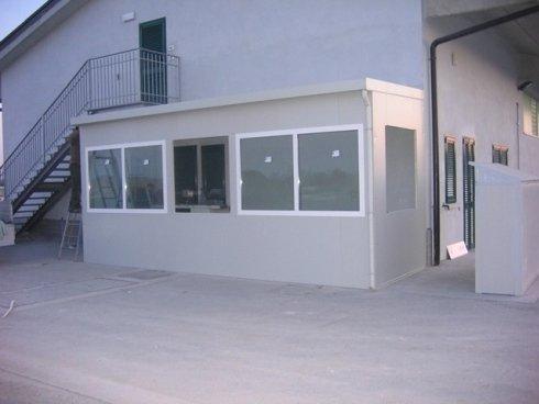 box prefabbricato tipo ufficio